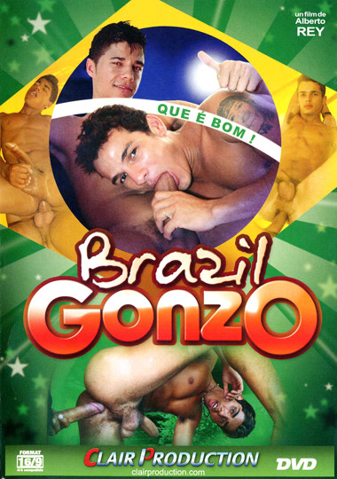 Brazil Gonzo Cover Front