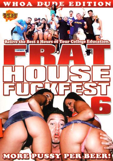 Frat House Fuckfest 6 cover