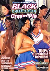 Black Cheerleader Cream Pie