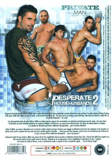 Desperate Househusbands 2 Cover Back