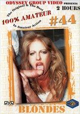 100 Percent Amateur 44: Blondes