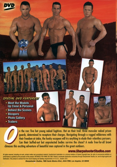 Muscle Manhunt Cover Back