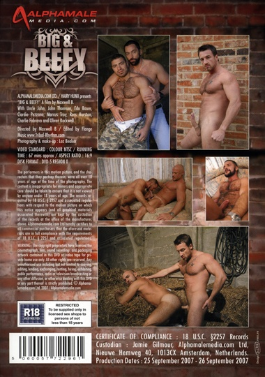 Big and Beefy Cover Back