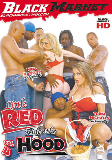 Little Red Rides The Hood 4 cover