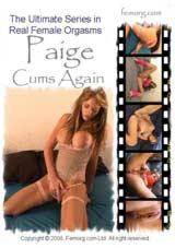 Paige Cums Again