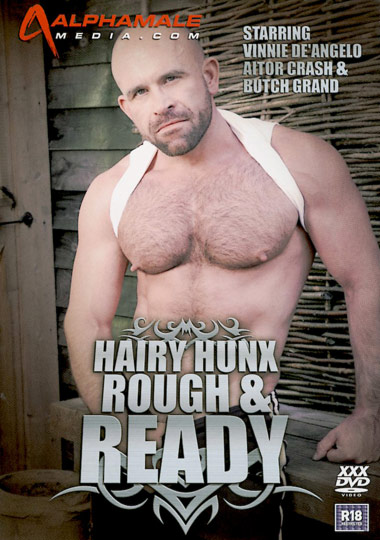 Hairy Hunx Rough And Ready cover