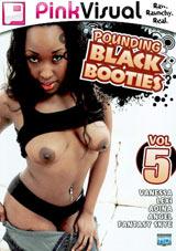 Pounding Black Booties 5