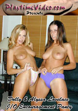 Dolly And Alyssa Lovelace: J-O Encouragement Panty