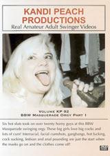 Kandi Peach Productions 92: BBW Masquerade Orgy