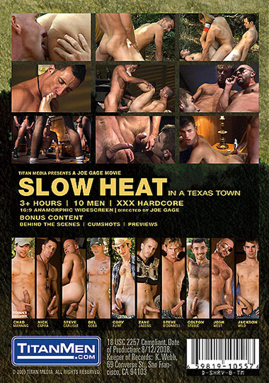 Slow Heat in a Texas Town Cover Front