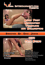 Asian Foot Domination Trampling And Ballbusting With Cece Stone