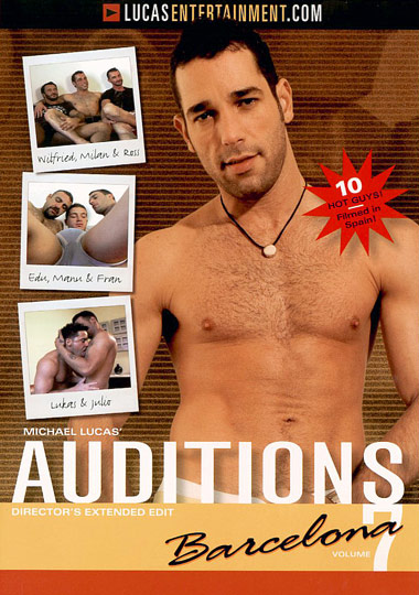 Auditions 07 Barcelona Cover Front
