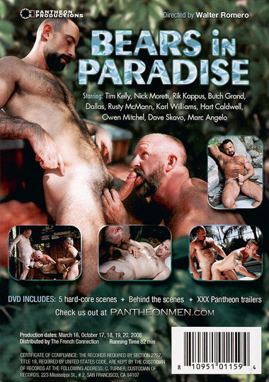 Bears in Paradise Cover Front
