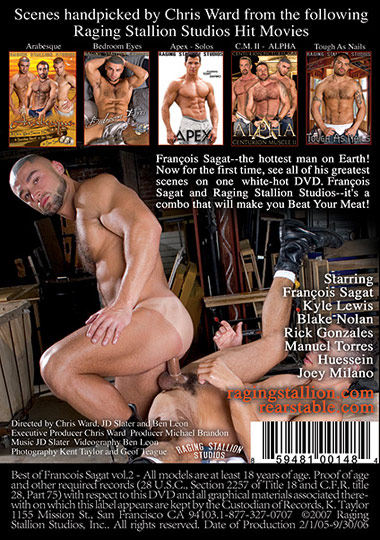 The Best of Francois Sagat 2 Cover Front