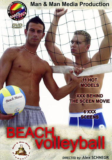 Beach Volleyball Cover Front