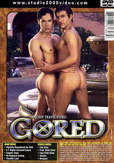 Gored Cover Back