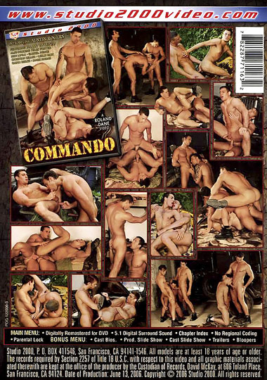 Commando Cover Back