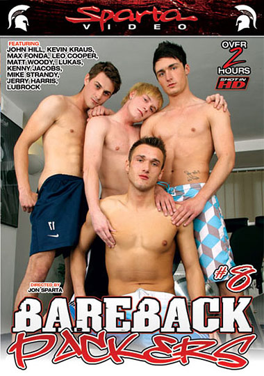 Bareback Packers 8 Cover Front
