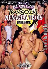 Transsexual Menage A Trois Bareback