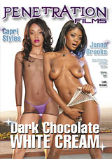 Dark Chocolate White Cream