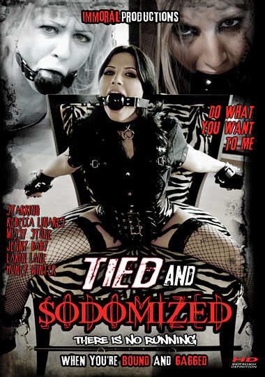 Tied and Sodomized cover