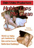 Hubby Laps Me Clean