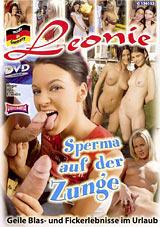 Sperma Auf Der Zunge