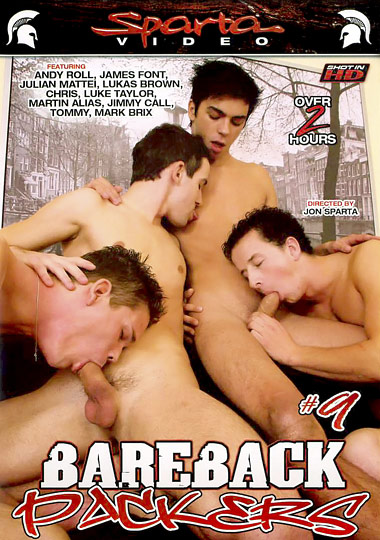 Bareback Packers 9 Cover Front
