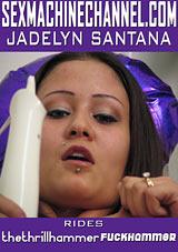 Jadelyn Santana Rides Thethrillhammer Fuckhammer