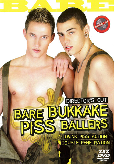 Bare Bukkake Piss Ballers Cover Front