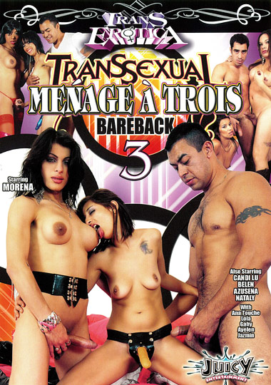 Transsexual Menage A Trois Barebacking 3 (2010)