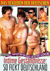 Das Sexleben Der Deutschen