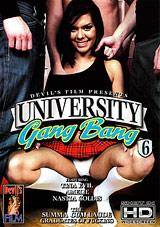 University Gang Bang 6