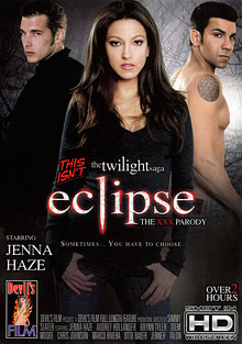 This Isn't the Twilight Saga: Eclipse The XXX Parody cover