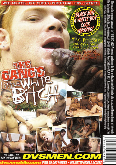 The Gangs Little White Bitch Cover Front