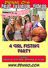 Real Extreme Videos 19: 4 Girl Fisting Party