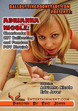 Adrianna Nicole: Cheerleader CBT Ballbusting And Femdom POV Blowjob