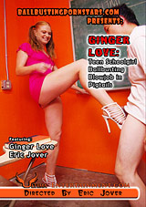 Ginger Love: Teen Schoolgirl Ballbusting Blowjob In Pigtails
