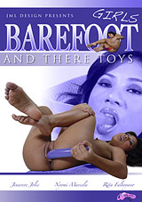 Girls Barefoot And Their Toys
