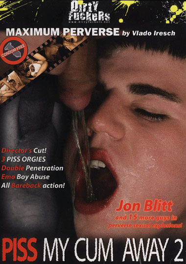 Piss My Cum Away 2 Cover Front