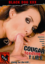Cougar Feeding Time