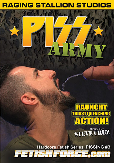 Hardcore Fetish Series Pissing 3 Piss Army Cover Front
