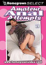 Amateur Anal Attempts 21