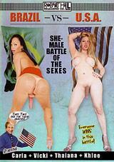 Brazil Vs. USA: Shemale Battle Of The Sexes