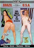 Brazil Vs. USA: Shemale Battle Of The Sexes