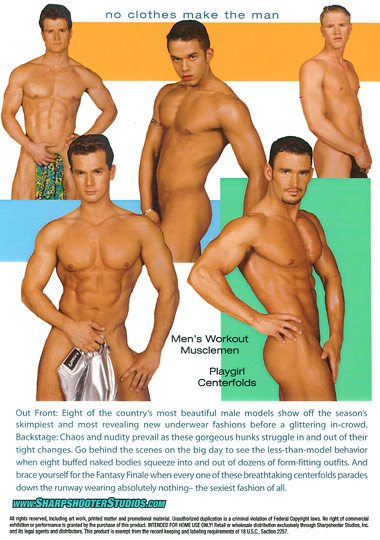 Muscle Models Undressed Cover Back