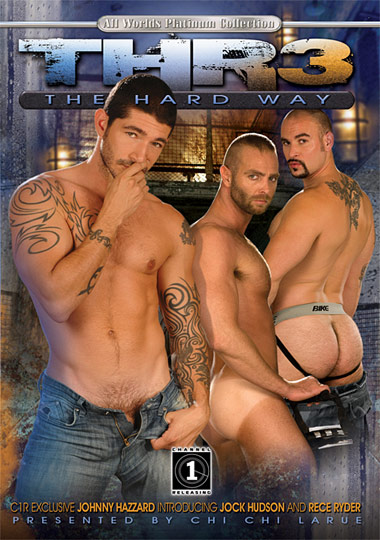 Thr3 The Hard Way Cover Front