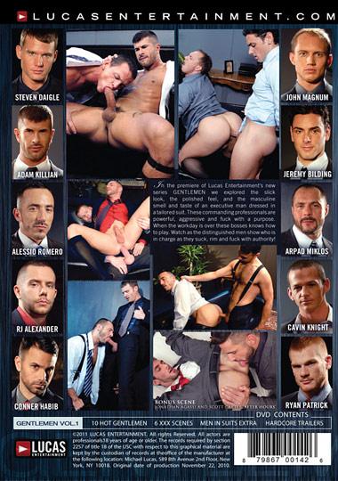 Gentlemen 01 Men in Suits Cover