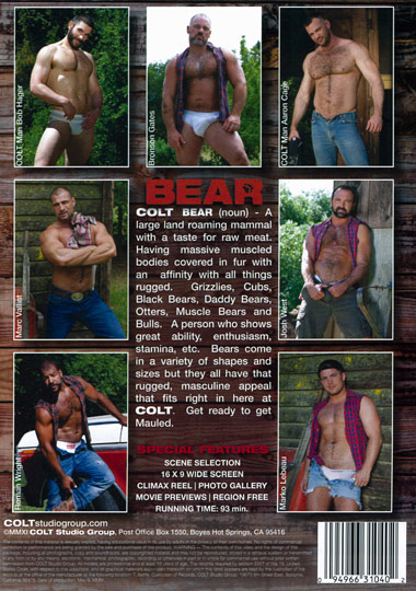 Bear Cover Front