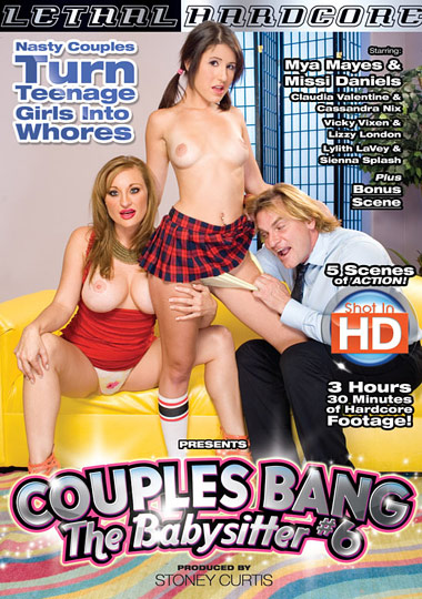Couples Bang The Babysitter 6 cover